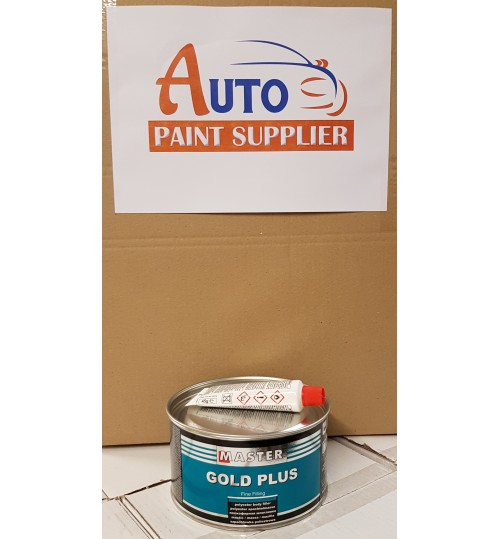 Master TROTON Gold Plus Filling and Fine Filler Polyester Putty 1L