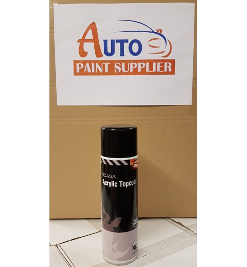 INDASA Aerosol Acrylic Topcoat  Black 500ml