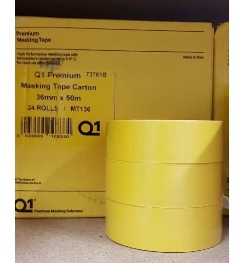 Q1 Premium Masking Tape 36mm X 50m