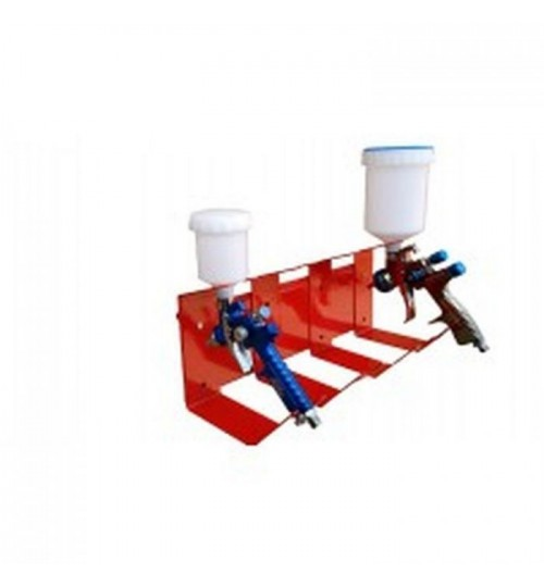Fast Mover Wall Mounted Gun Holder Stand For 4 Spray Guns